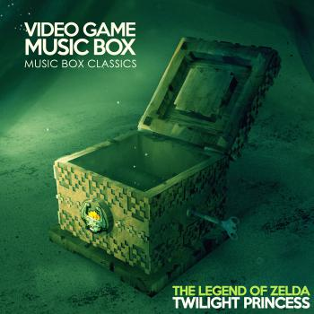 Music Box Classics: The Legend of Zelda: Twilight Princess. Front. Нажмите, чтобы увеличить.