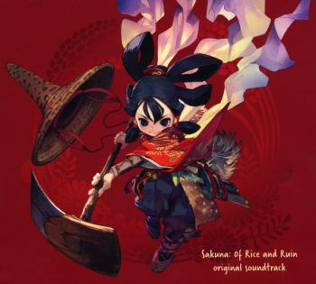 Sakuna: Of Rice and Ruin original soundtrack. Digipack Exterior Front. Нажмите, чтобы увеличить.