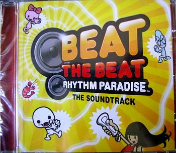 Beat the Beat: Rhythm Paradise The Soundtrack. Case Front. Нажмите, чтобы увеличить.