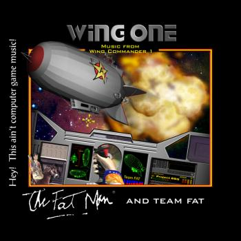 Wing One - Music from Wing Commander 1. Front. Нажмите, чтобы увеличить.