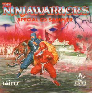 Ninja Warriors Special CD Sampler, The. Booklet Front. Нажмите, чтобы увеличить.