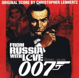 007 From Russia With Love - Original Score. Front. �������, ����� ���������.