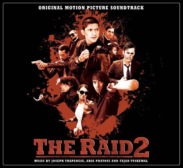 Рейд 2 саундтрек
