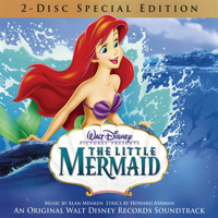 Little Mermaid - An Original Walt Disney Records Soundtrack 2 Disc Special Edition. Передняя обложка. Нажмите, чтобы увеличить.