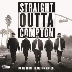 Straight Outta Compton Music from the Motion Picture. Лицевая сторона . Нажмите, чтобы увеличить.