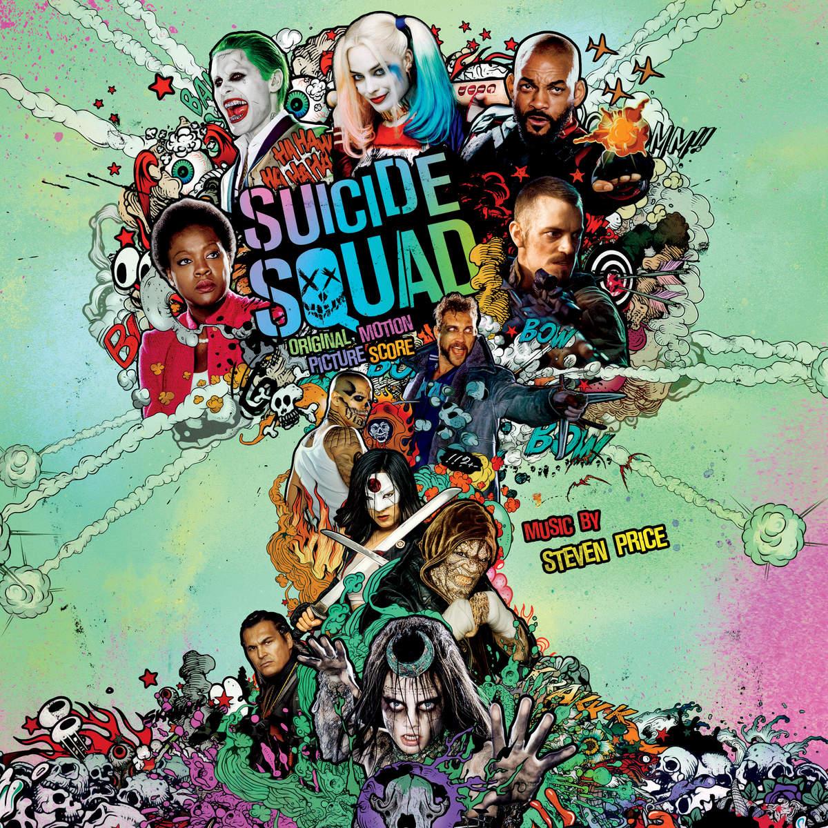 Otryad Samoubijc Muzyka Iz Filma Suicide Squad Original Motion Picture Score