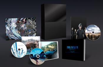 FINAL FANTASY XV Original Soundtrack [Limited Edition]. Contents (small). Нажмите, чтобы увеличить.
