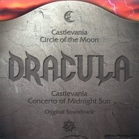 Castlevania Circle of the Moon & Castlevania Concerto of Midnight Sun Original Soundtrack. Передняя обложка. Нажмите, чтобы увеличить.